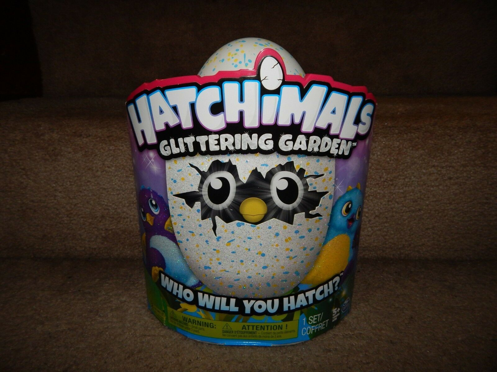 New! Hatchimals Glittering Garden 1 Set Free Shipping 5+ Kids Children