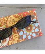 Handcrafted Sunglass / Eyeglass Case - Amy Butler Lotus Geisha Fans - $9.25