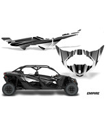 Half Graphics Kit Decal Wrap For Can-Am Maverick X3 MAX DS RS 4D 2016+ E... - $395.95