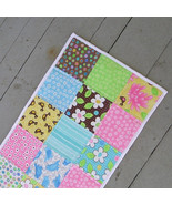 Mid-Sized Quilted Patchwork Table Runner Birdie By MODA Great for Spring - $36.00