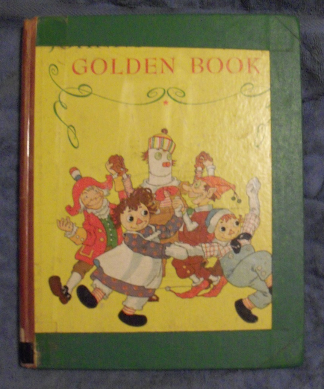 Primary image for Johnny Gruelle's Golden Book Raggedy Ann stories Used