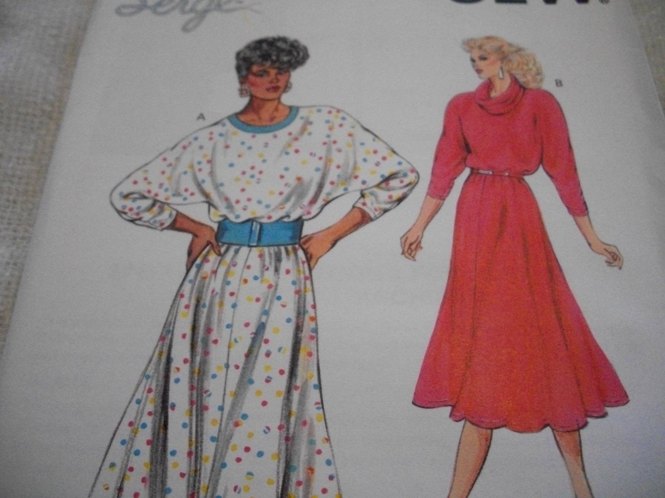 Primary image for Vintage Woman's Dress Pattern Kwik Sew 1640