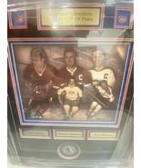 Canadiens Official Puck Signed Maurice Richard Jean Beliveau Lafleur Fra... - $399.86