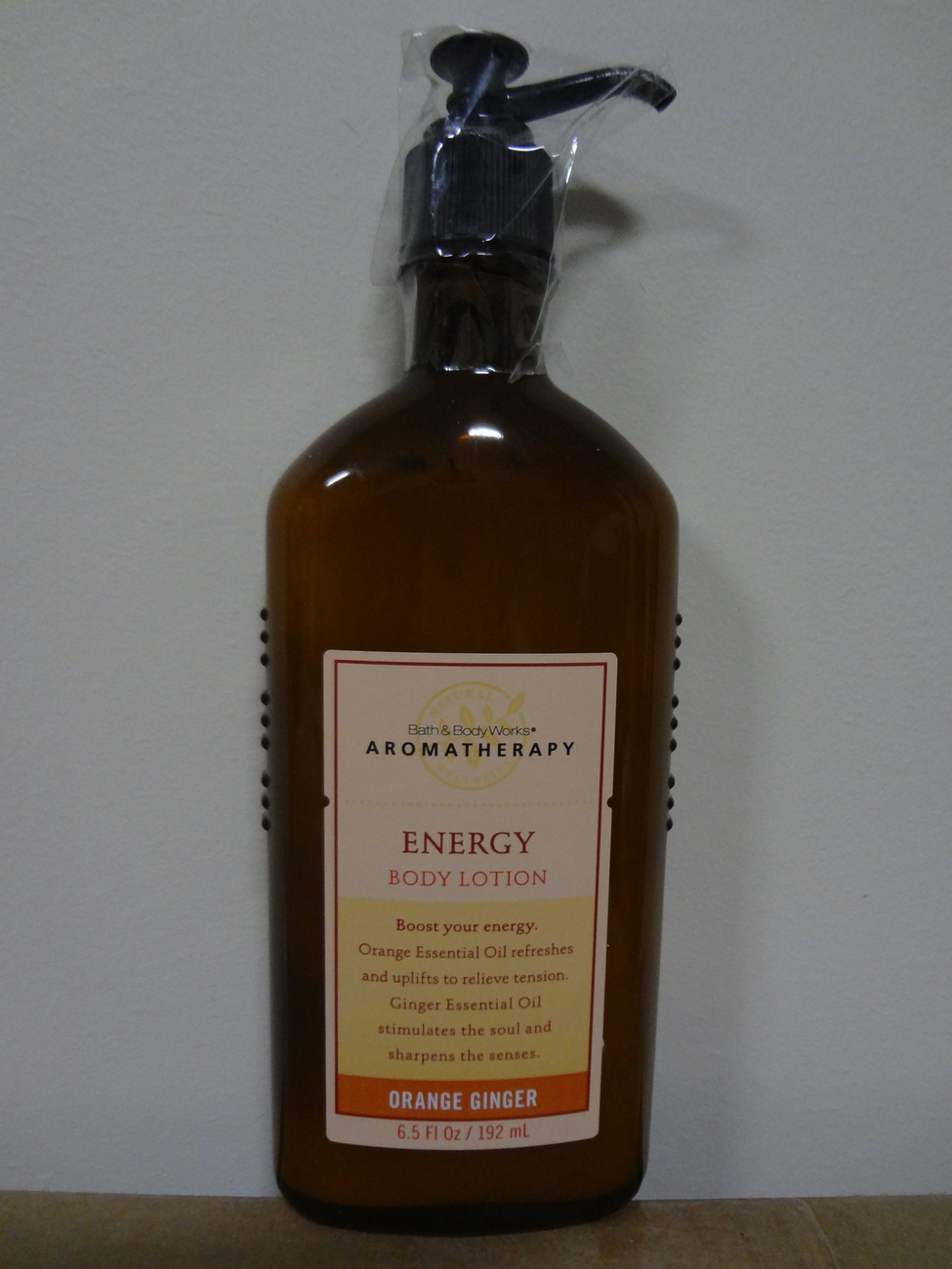 Bath & Body Works Aromatherapy ORANGE GINGER Energy Body Lotion 6.5 oz / 192 ml