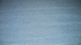 Blue Mini Plaid Chenille Upholstery Fabric 1  Yard  F692 - $19.95
