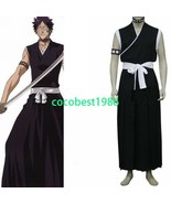 Bleach 9th Division Lieutenant Hisagi Shuuhei Halloween Cosplay Costume - $43.99