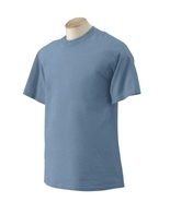 Heather Indigo Blue XL Gildan G2000 Ultra Cotton T-shirt S / s  G200 Z7 ... - $4.00