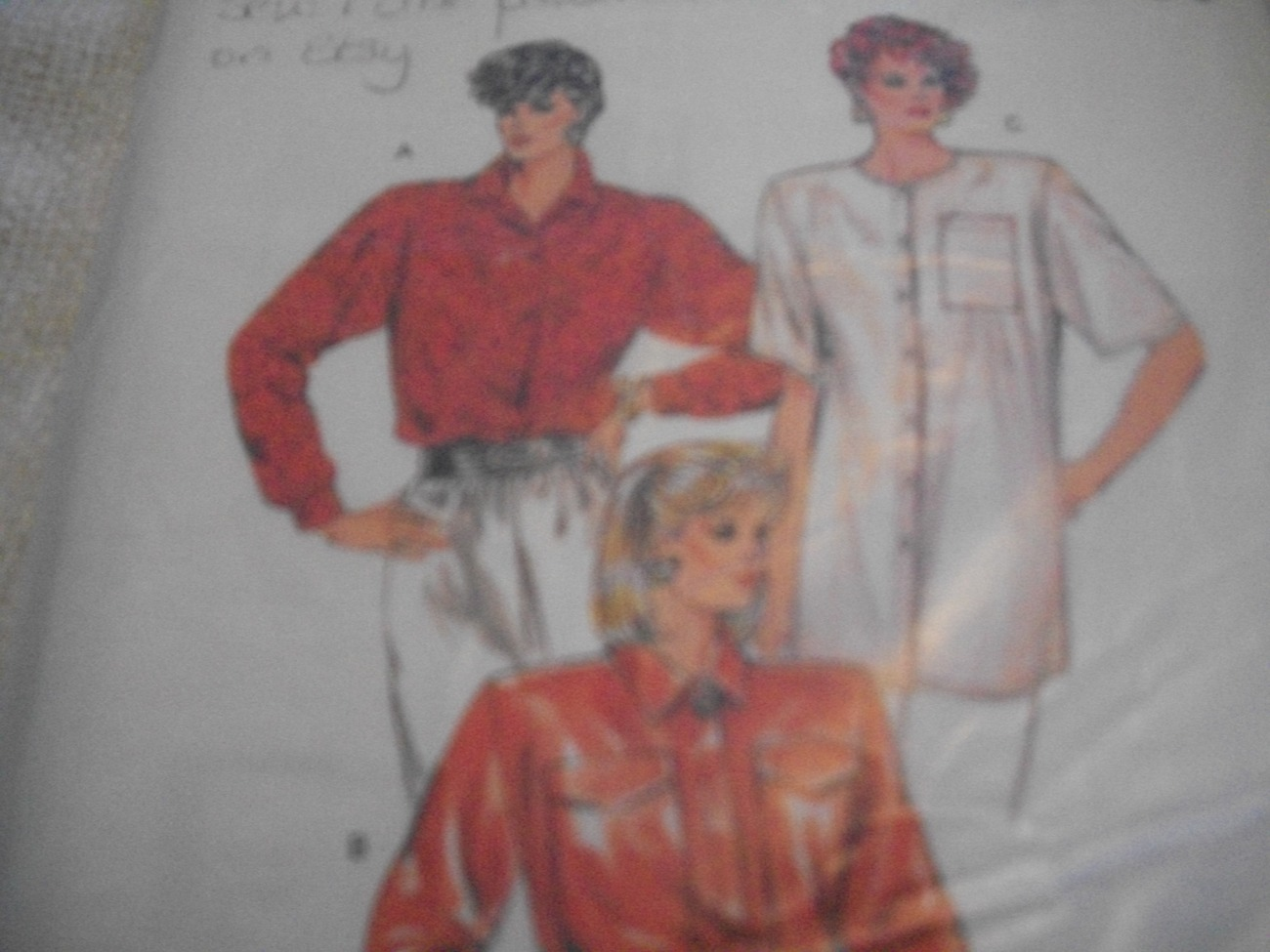 Primary image for Misses' Short or Long Sleeve Blouse Pattern Kwik Sew 1600