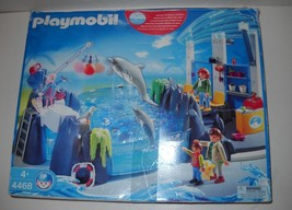 HTF Playmobil 4468 Dolphin Basin play set opened used - $45.25