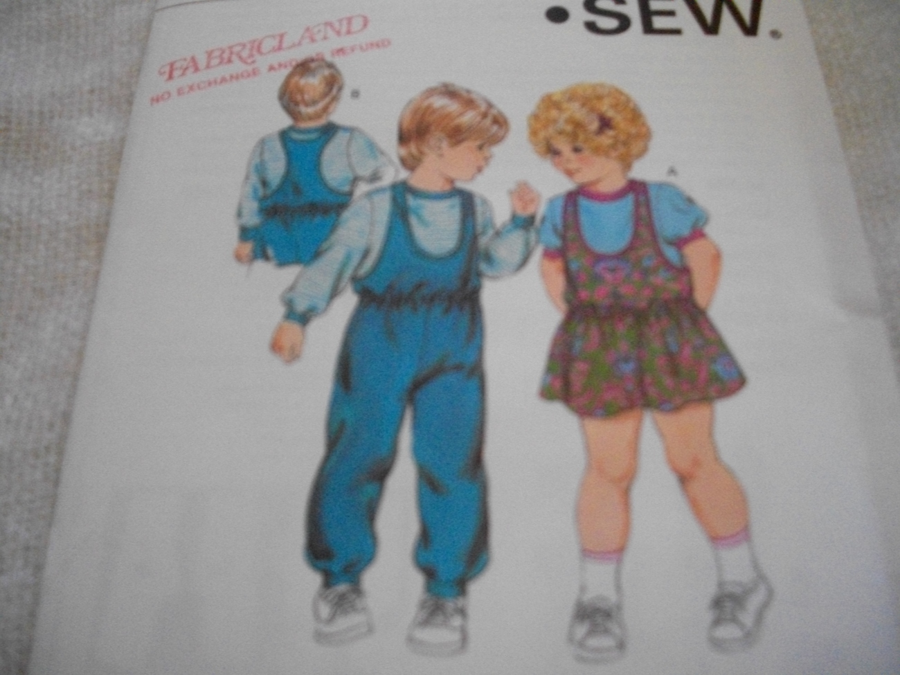 Primary image for Toddler Jumper, Jumpsuit & Shirt Pattern Kwik Sew 1530
