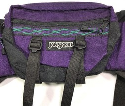VTG JanSport Fanny Pack Pocket Hip Pad Waist Made USA 80's 90's Bag - $49.99