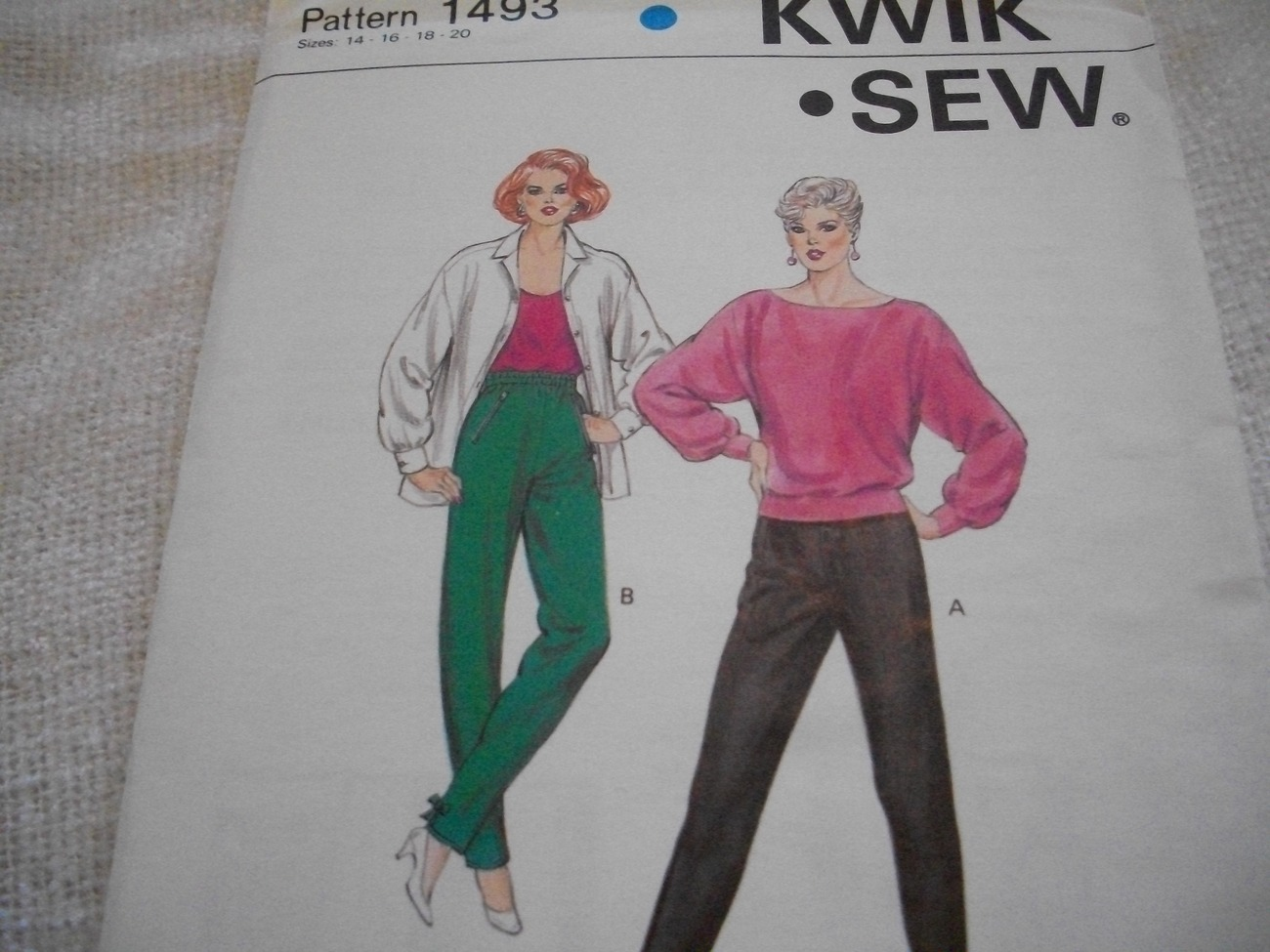 Primary image for Misses' Pullon Pants Pattern Kwik Sew 1493