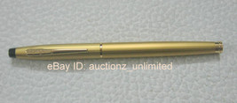 Pierre Cardin Kriss Satin Gold Roller Ball Pen Ballpoint Pen Brand New -... - $6.99