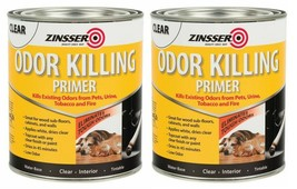 (Pack of 2) Zinsser  Clear  Primer  For All Surfaces 1 qt. Pets, Urine, ... - $34.64