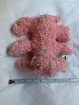 "7"" Ganz Webkinz Pink Poodle HM107 Plush Stuffed Animal W Used CODE Clean Cond image 5"