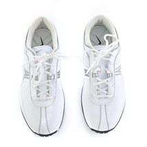 Nike Air Brassie II White Metallic Gray Golf Shoes Rubber Spikes Womens ... - $59.27