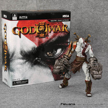 NECA God of War 3 Ghost of Sparta Kratos PVC Action Figure Collectible M... - $34.95