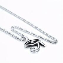 U7 The Eye Of Horus Ankh Necklace Ancient Egyptian Religion Jewelry Gift Unisex image 5