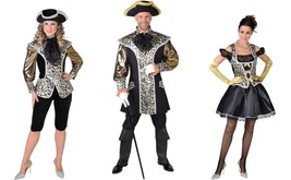 Marchioness / Prince Charming Dress - Black / Gold Xs - Xxl - Dress Version - $48.36