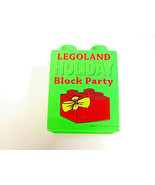 Legoland California 2007 LEGO brick Holiday Block party promotional Gree... - $9.56
