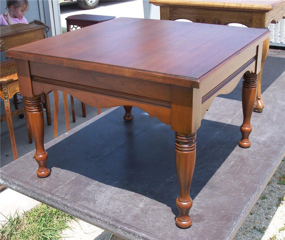 Cedar Round Log Dining Table Real Wood And 50 Similar Items: Cherry Pennsylvania House Coffee Table/Side And 50 Similar