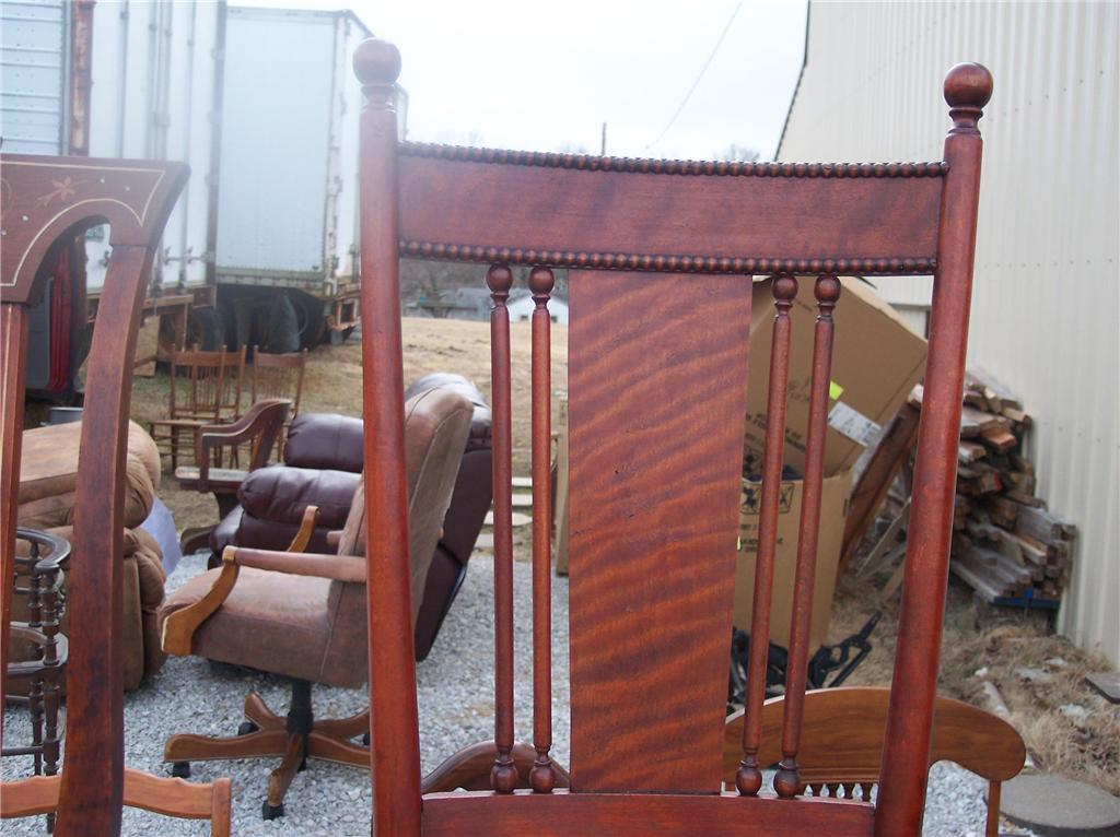 Cherry Spindle Back Parlor Chair/Sidechair