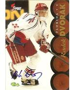 radek dvorak autograph 1995 classic hockey florida panthers limited edition - $19.99