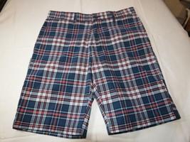 "Men's Tommy Hilfiger 40 9"" Inseam shorts 406 dark blue 78B9273 casual TH... - $35.38"