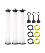 KP14 - PACK OF 3 GAS CAN SPOUT REPLACEMENT WITH TONS OF ACCESSORIES - $19.79