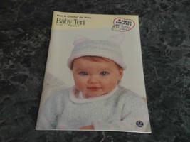 Baby Teri Book 0139 Red Heart Coats & Clark - $2.99
