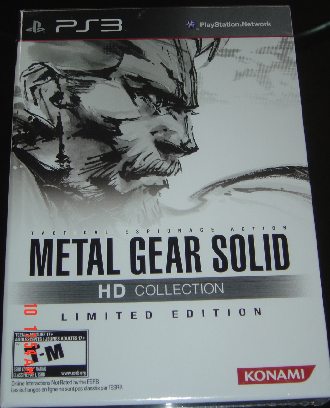 Primary image for METAL GEAR SOLID HD COLLECTION LIMITED EDITION