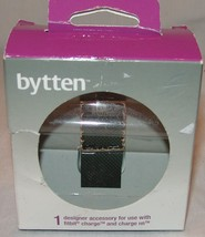 Bytten Designer Accessory for Fitbit Charge and Charge HR Chloe Metallic... - $9.51