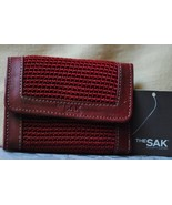 THE SAK® Mini Trifold Wallet in Tomato NWT - $26.00