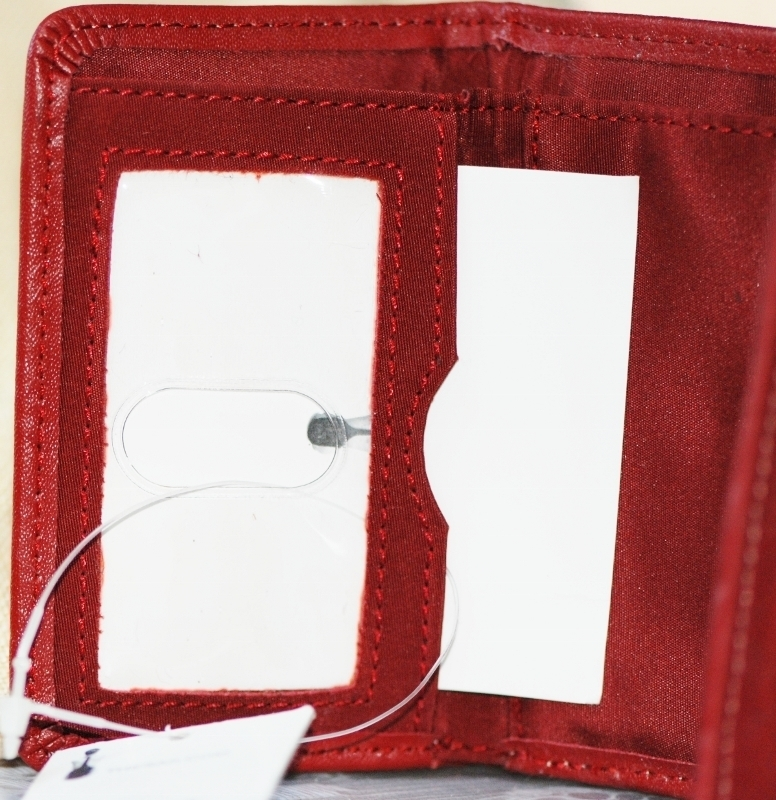 THE SAK® Mini Trifold Wallet in Tomato NWT