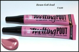 NEW & SEALED Lot of 2 Covergirl Melting Pout Liquid Lipstick 1 10 Evan-G... - $5.50