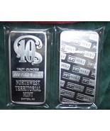 10 Troy Oz .999 Fine Silver Bullion Bar-Northwe... - $205.00