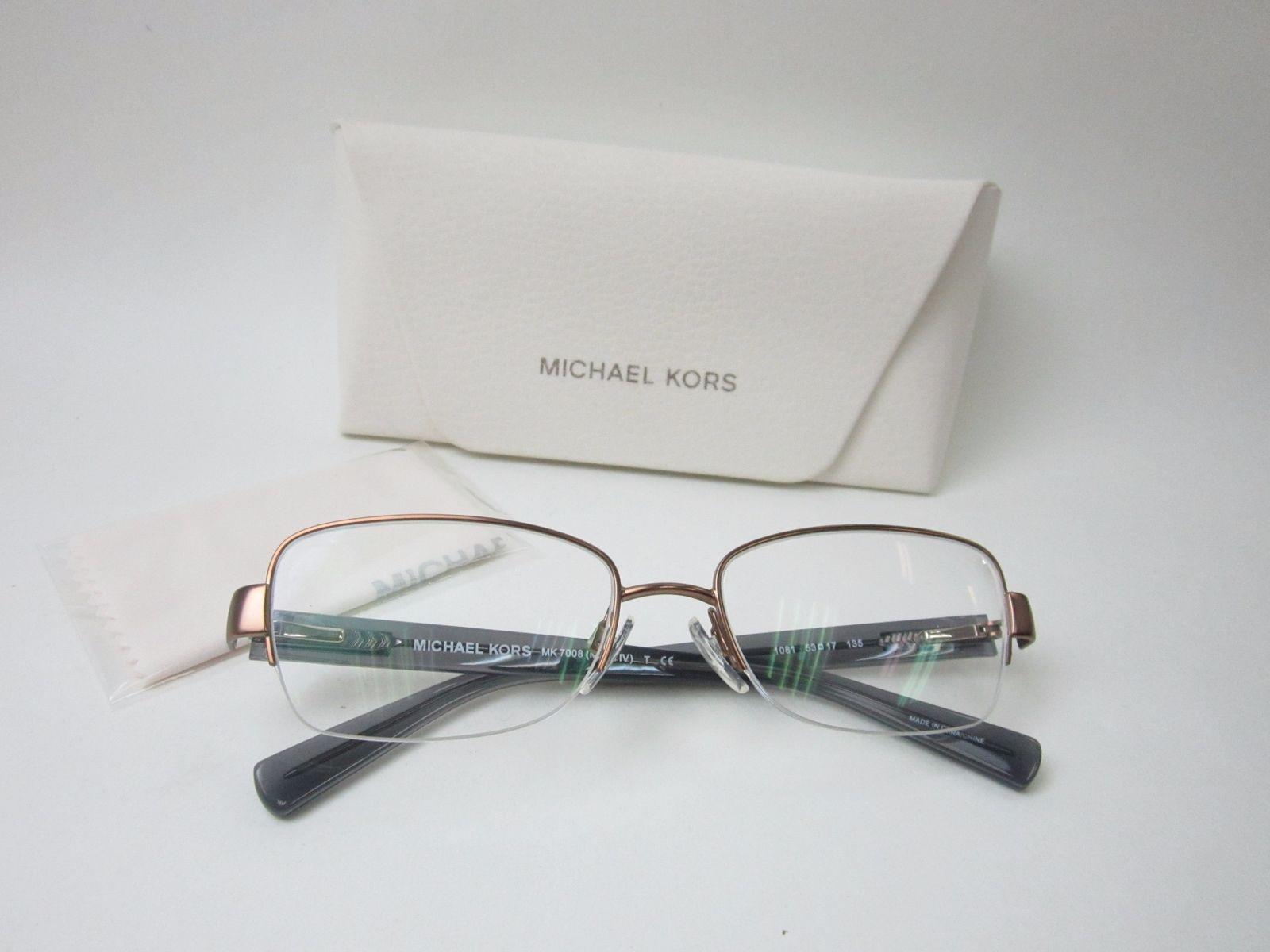 589fb2a69b AUTHENTIC! Michael Kors MK7008 1081 Women s Eyeglasses 53 17 135  SHH235
