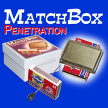 Matchbox Solid Thru Solid Impossible BRASS Penetration EXAMINABLE Magic ... - $49.99