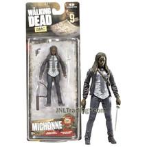 Year 2016 AMC TV Walking Dead 4-1/2 Inch Tall Figure - MICHONNE with Sword & Gun - $24.99