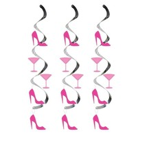 Girls Night Out Dizzy Dangler Hen Night Party Decoration - $4.96