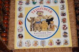 Each Day A Teddy Bear Calendar 1996 Fox Editions Dutch NEW Steiff Antique - $88.88