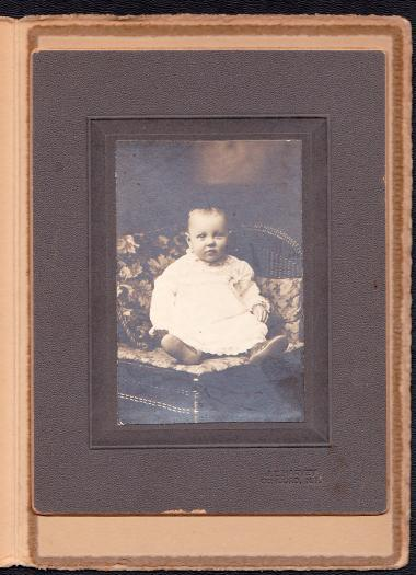 James Grover Carr Cabinet Photo of Baby - Concord, NH