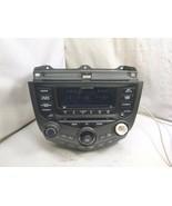 03-07 Honda Accord XM Radio 6 Disc Cd & Theft Code 39175-SDN-L120 7BY1 D... - $71.28