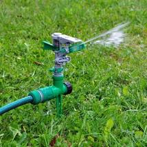 2 X Garten Boden Stachel Rasen Rasen-schlauch 360 Grad Wasser Impulse - $20.80