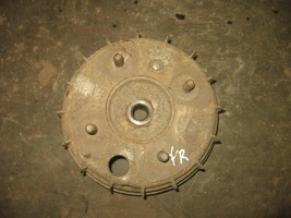 HONDA 1986 FOURTRAX 350 4X4 RIGHT FRONT BRAKE DRUM (BIN 69) P-1023L PART... - $25.00