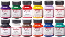Angelus Acrylic Leather Paint /Dye - Leather & Vinyl - 1 Fl Oz - $3.95+