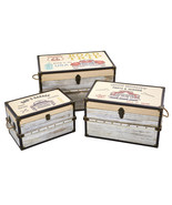 Classic Car Collection Trunk and Storage Boxes (Set of 3) - $279.74