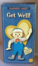 Raggedy Andy Doll - Get Well - Hasbro / Applause 2003 - Sound Not working - $9.75