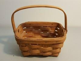 Longaberger 1987 Basket With Swing Handle  - $8.00