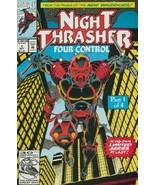 Night Thrasher: Four Control #1 NM 1992 Marvel Comic Book - $1.89